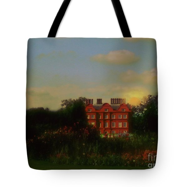 Moonrise - Sunset Tote Bag by RC DeWinter