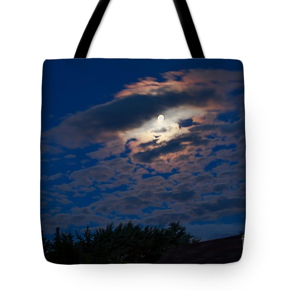 Moonscape Tote Bag by Robert Bales