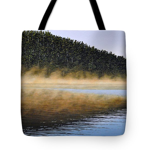 Moose Lake Paddle Tote Bag by Kenneth M  Kirsch
