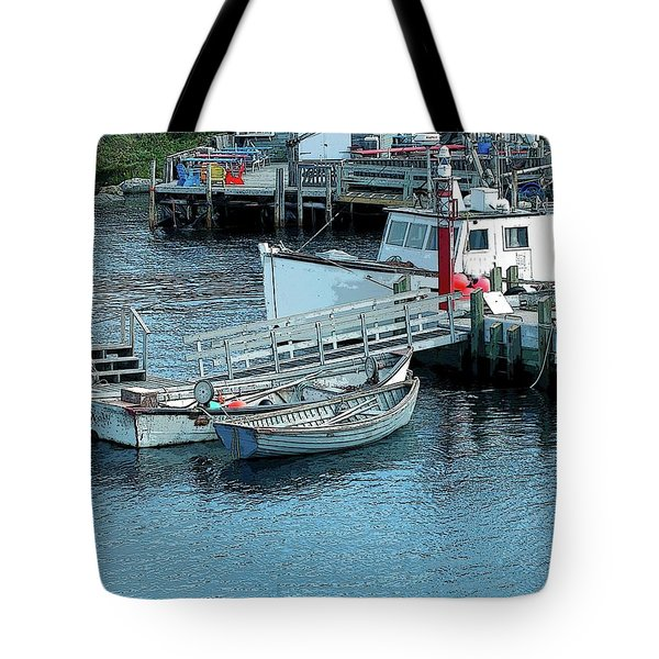 More Boats Tote Bag by Kathleen Struckle