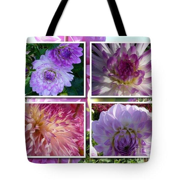 More Dahlias Tote Bag by Susan Garren
