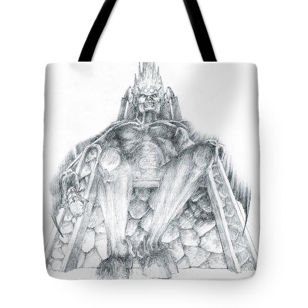 Morgoth Bauglir Tote Bag by Curtiss Shaffer