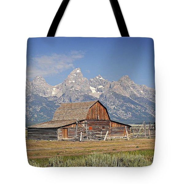 Mormon Barn 2 Tote Bag by Marty Koch