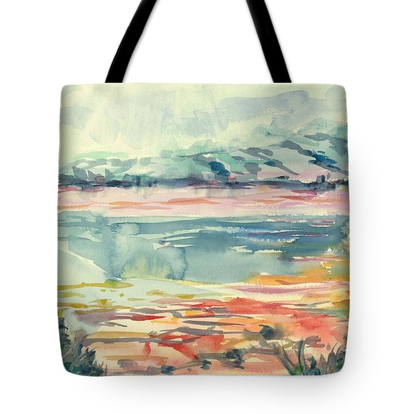 Mormon Lake Tote Bag by Marilyn Miller