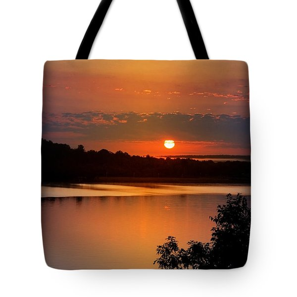 Morning Calm Tote Bag by Christina Rollo