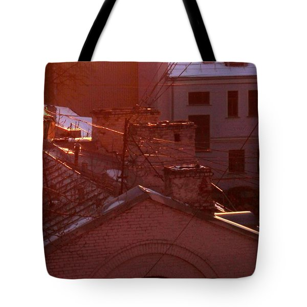 Morning Came Tote Bag by Anna Yurasovsky