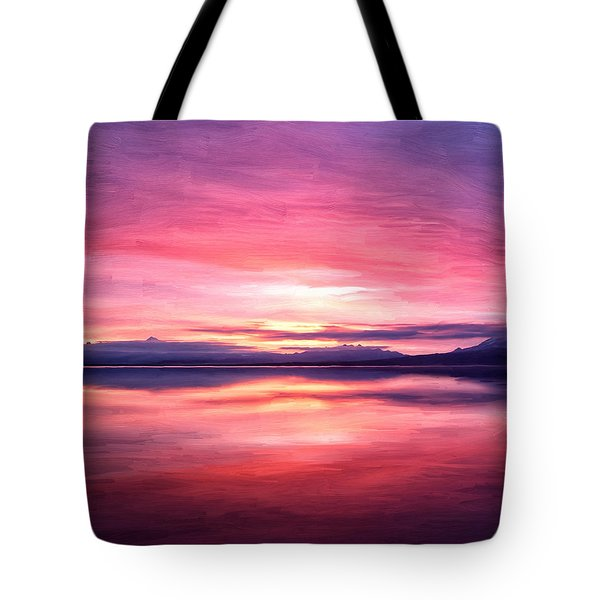 Morning Dawn Tote Bag by Michael Pickett