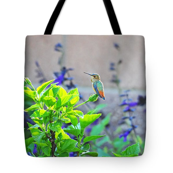 Morning Glory Tote Bag by Lynn Bauer