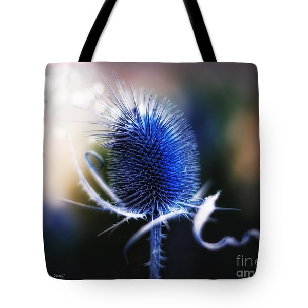 Morning Glory Tote Bag by Mo T