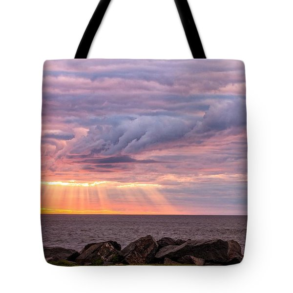Morning Has Broken Tote Bag by Mary Amerman