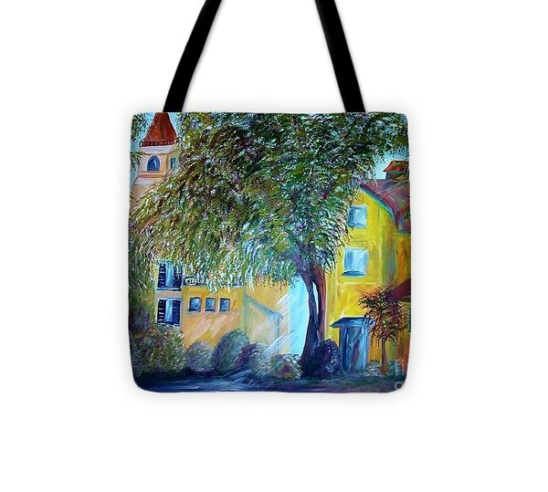Morning In Tuscany Tote Bag by Eloise Schneider
