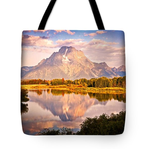 Morning Majesty Tote Bag by Marty Koch