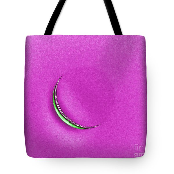 Morning Moon Pink Tote Bag by Al Powell Photography USA