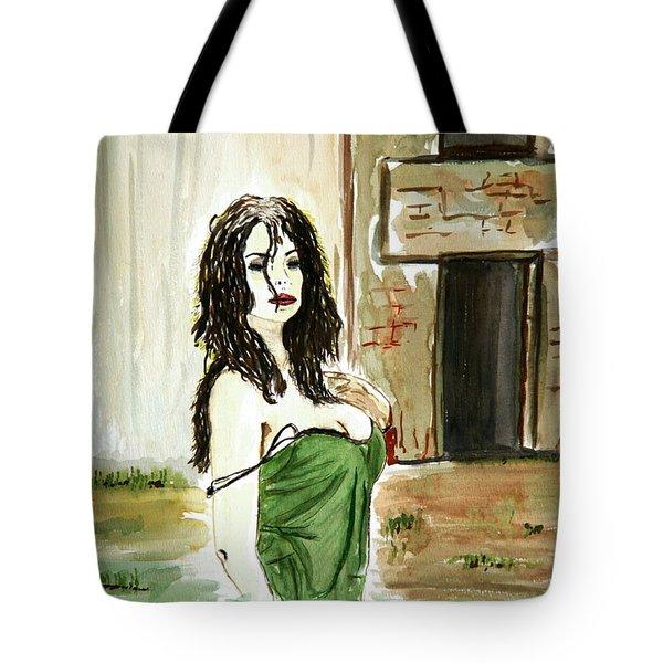 Morning Passion Tote Bag by Shlomo Zangilevitch