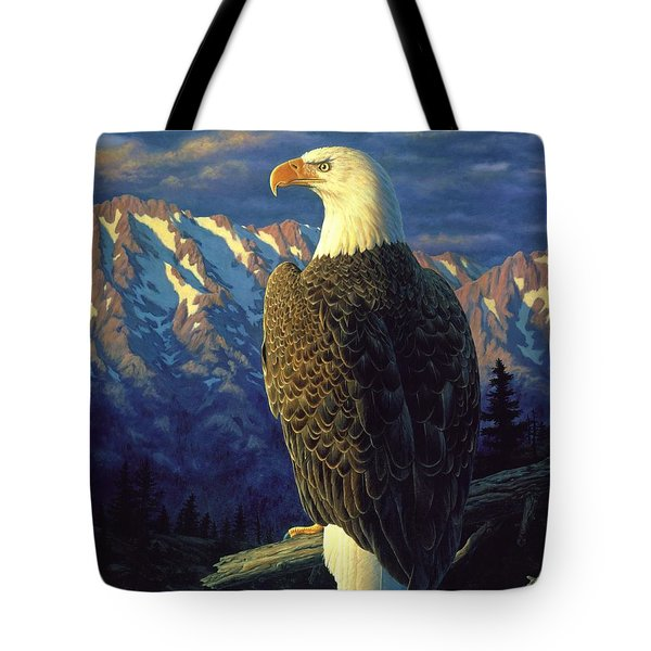 Morning Quest Tote Bag by Crista Forest