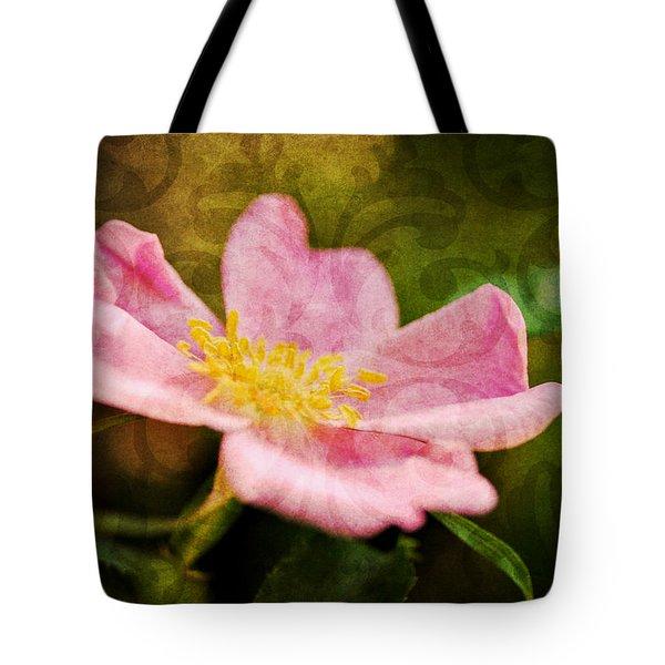 Morning Rose Tote Bag by Kelly Nowak