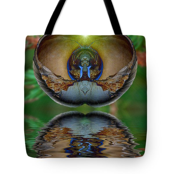 Morning Shell Tote Bag by WB Johnston