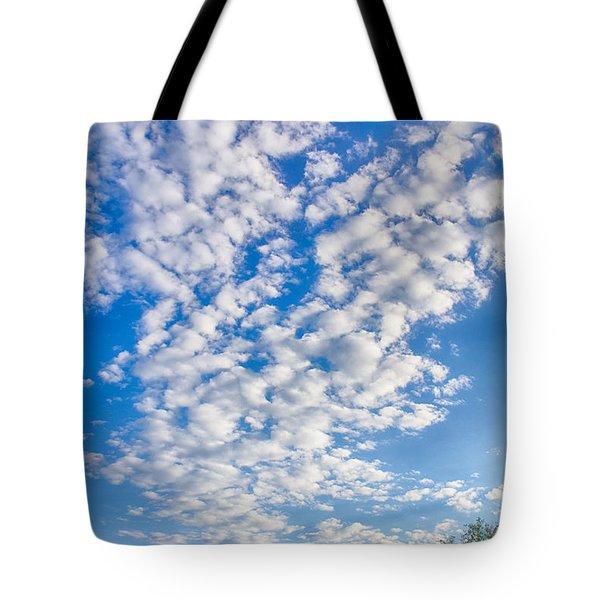 Morning Sky Tote Bag by Judi FitzPatrick