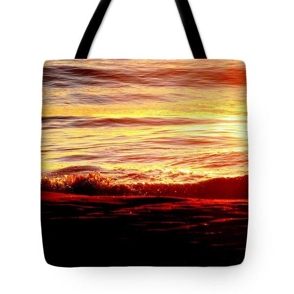 Morning Splash Tote Bag by Karen Wiles