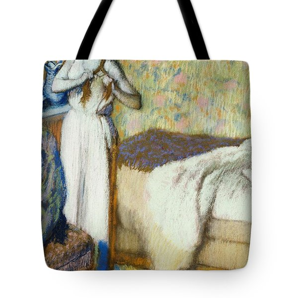 Morning Toilet Tote Bag by Edgar Degas