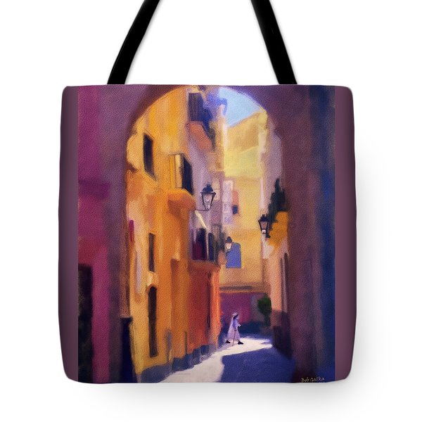 Moroccan Light Tote Bag by Bob Galka
