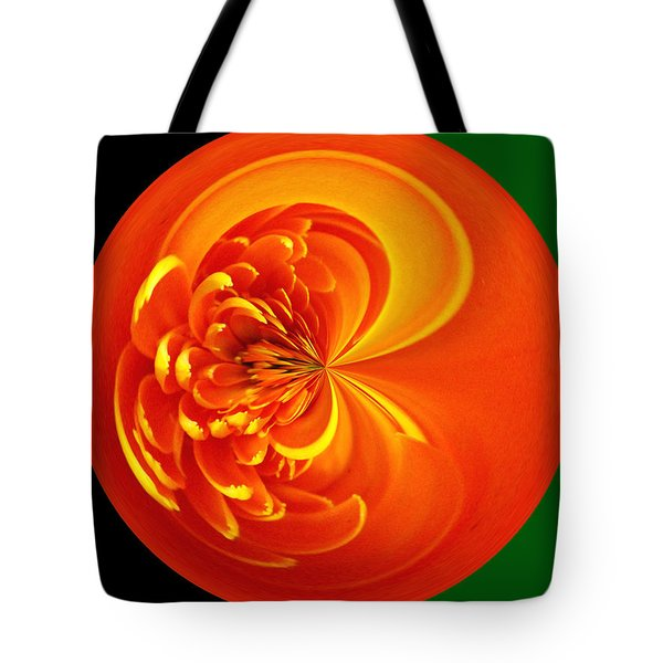 Morphed Art Globe 19 Tote Bag by Rhonda Barrett