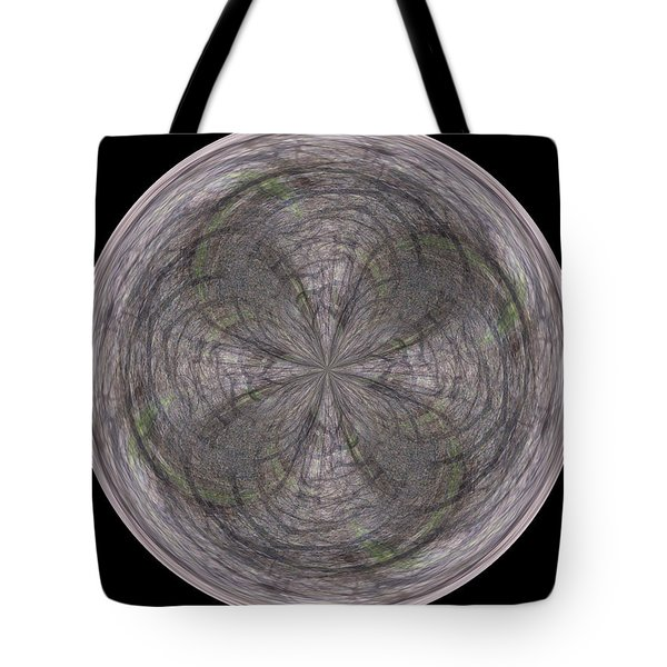 Morphed Art Globe 26 Tote Bag by Rhonda Barrett