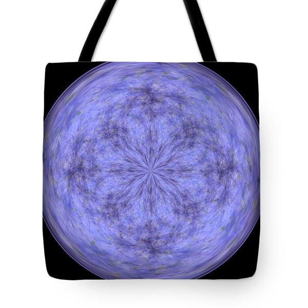 Morphed Art Globe 30 Tote Bag by Rhonda Barrett