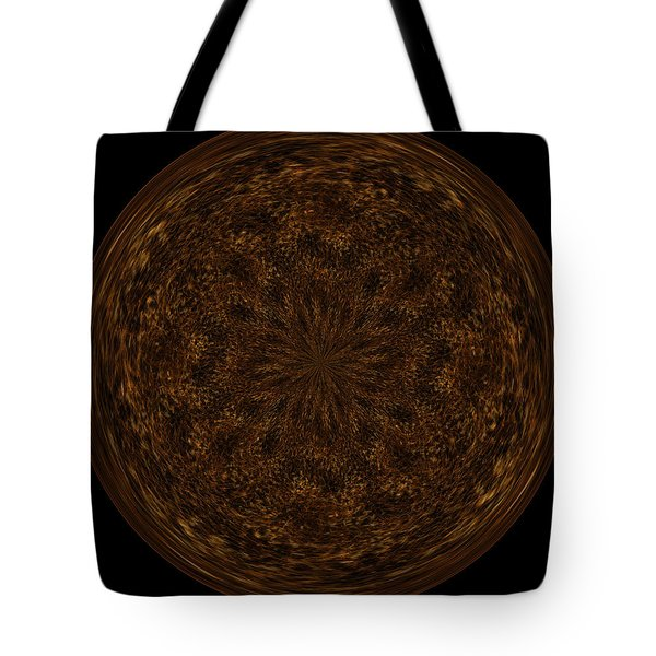 Morphed Art Globe 32 Tote Bag by Rhonda Barrett