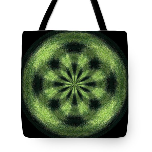 Morphed Art Globe 35 Tote Bag by Rhonda Barrett