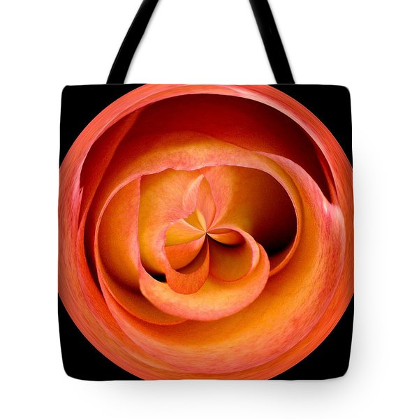 Morphed Art Globes 20 Tote Bag by Rhonda Barrett
