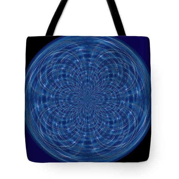 Morphed Art Globes 34 Tote Bag by Rhonda Barrett