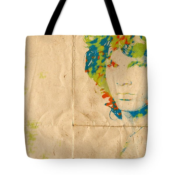 Morrison Watercolor Splash Tote Bag by Paulette B Wright