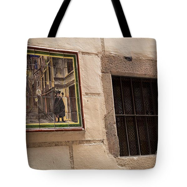 Mosaic Window Tote Bag by Rene Triay Photography