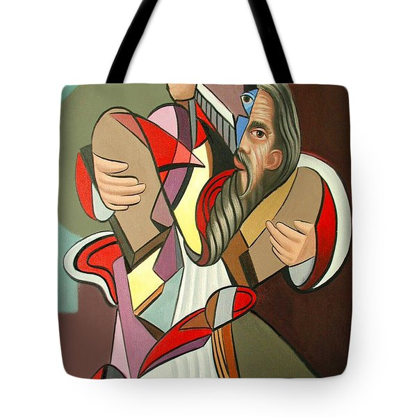 Moses Tote Bag by Anthony Falbo
