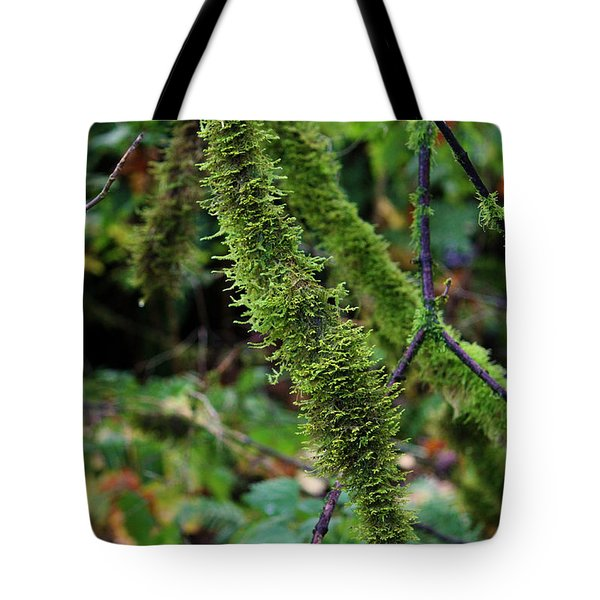 Moss Beauty Tote Bag by Jeanette C Landstrom