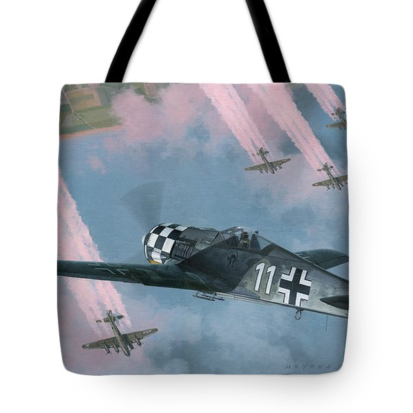 Most Dangerous Game Tote Bag by Wade Meyers