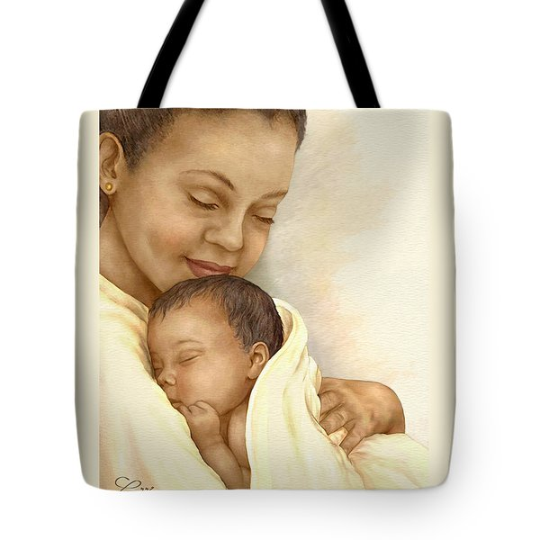 Mother Tote Bag by Beverly Levi-Parker