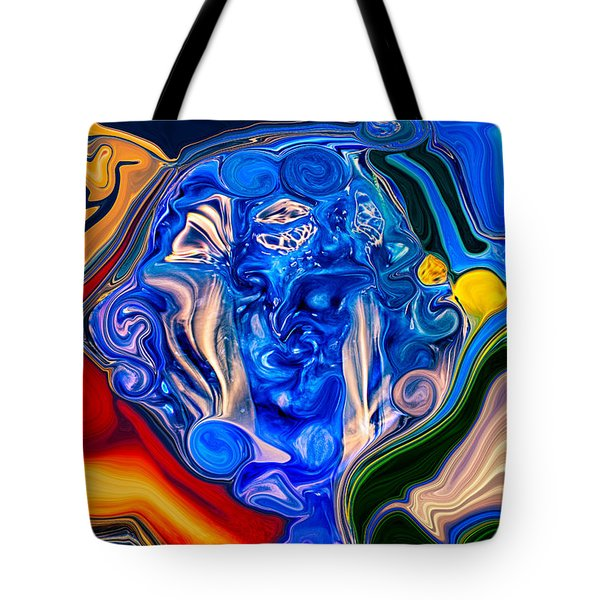 Mother Earth Tote Bag by Omaste Witkowski