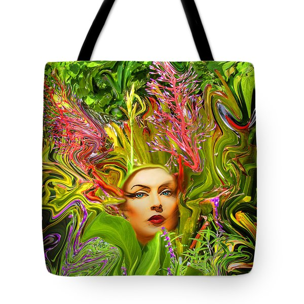Mother Nature Tote Bag by Chuck Staley