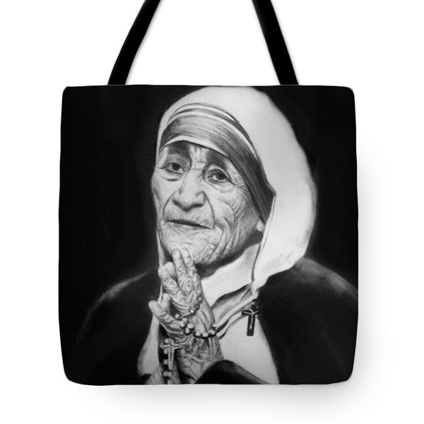 Mother Teresa Tote Bag by Anthony Falbo