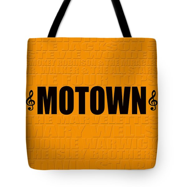 Motown Tote Bag by Andrew Fare