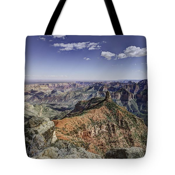 Mount Hayden Tote Bag by Mike Herdering