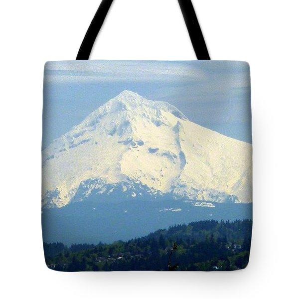 Mount Hood  Tote Bag by Susan Garren