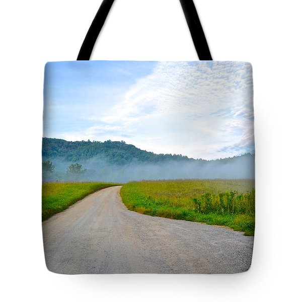 Mountain Air Tote Bag by Frozen in Time Fine Art Photography