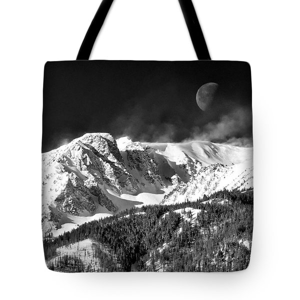 Mountains Of The Moon Tote Bag by Adele Buttolph