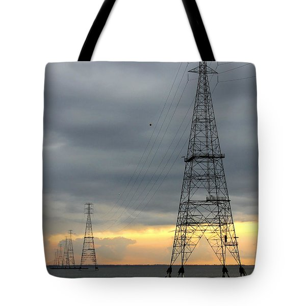 Moving Power Tote Bag by Mike McGlothlen