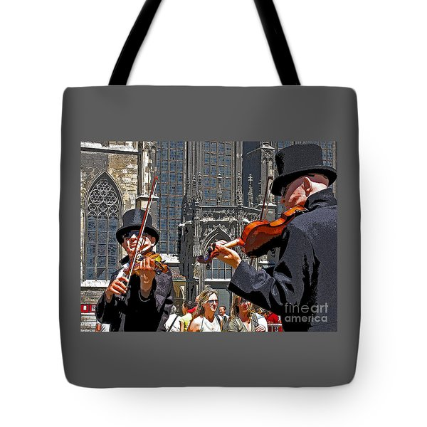 Mozart In Masquerade Tote Bag by Ann Horn