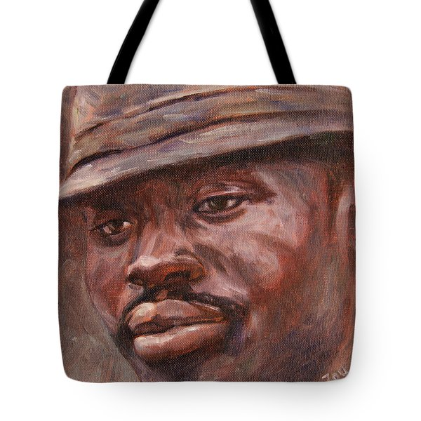 Mr Cool Hat Tote Bag by Xueling Zou