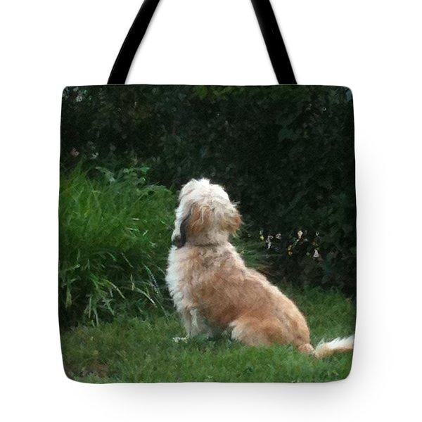 Mrs. Beazley Tote Bag by Angela Wright